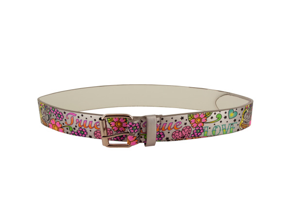 xl love scorned wht belt