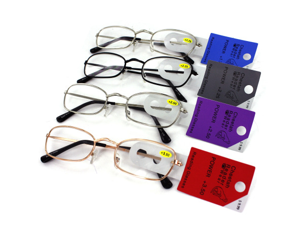 Assorted Colors Metal Readers