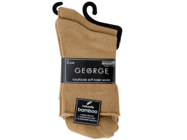 2 pair tan socks size 8-12
