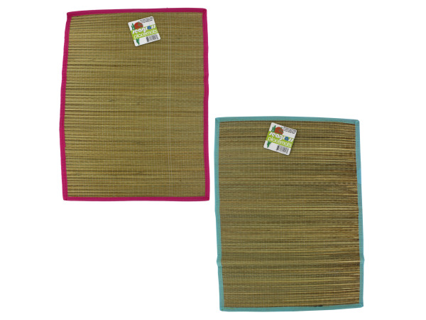 Straw place mat