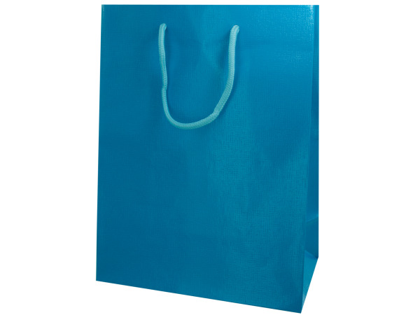 Aqua Colored Gift Bag