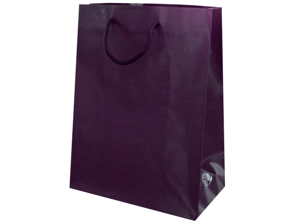 Plum Colored Gift Bag