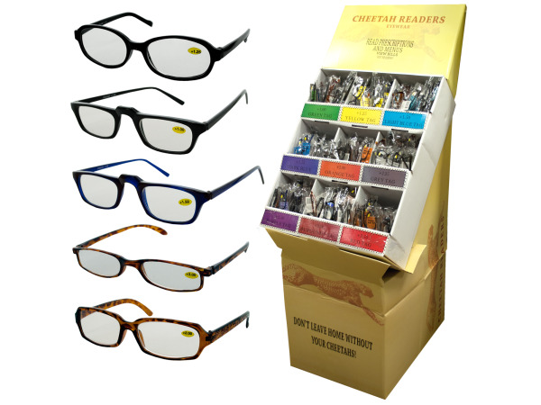 Fashionable Reading Glasses Display