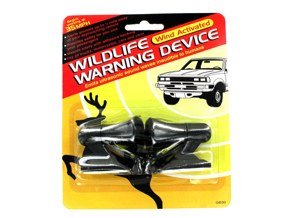 Wildlife Warning Device