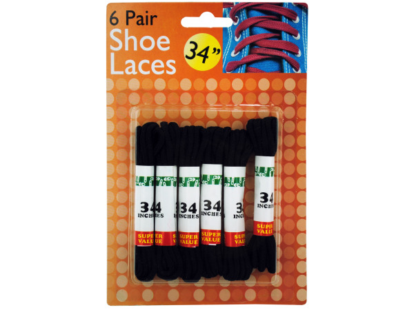 Black Shoe Laces