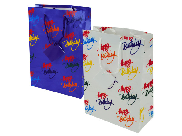 Birthday Medium Gift Bag