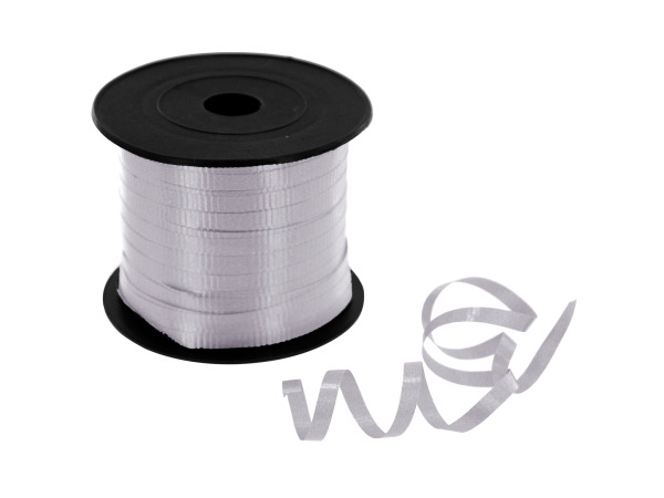 300' silver ribbon spool