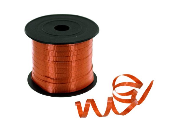 300' orange ribbon spool