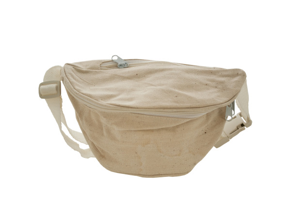 Natural Canvas Fanny Pack