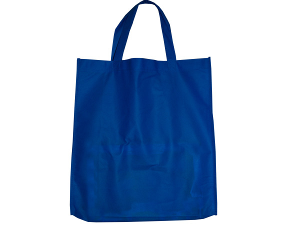 Blue Shopping Tote