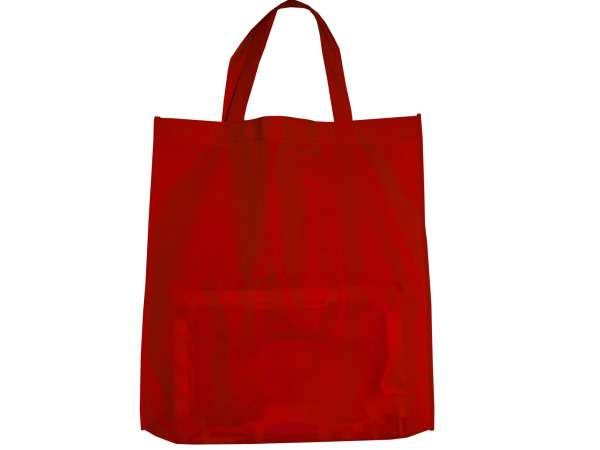 Red Shopping Tote