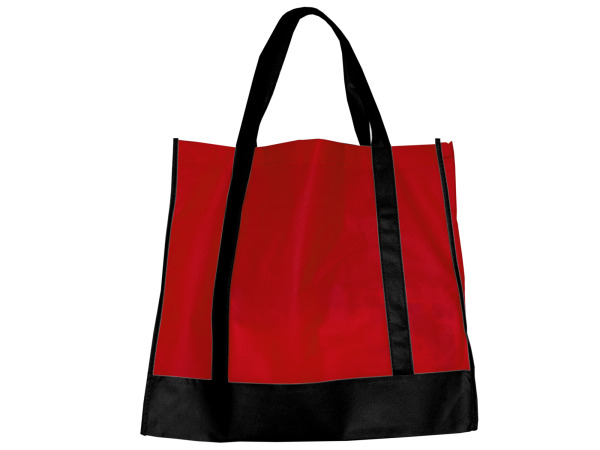 Red/Black Shopping Tote