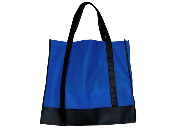 Blue/Black Shopping Tote