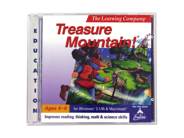 The Learning Company Treasure Mountain PC game