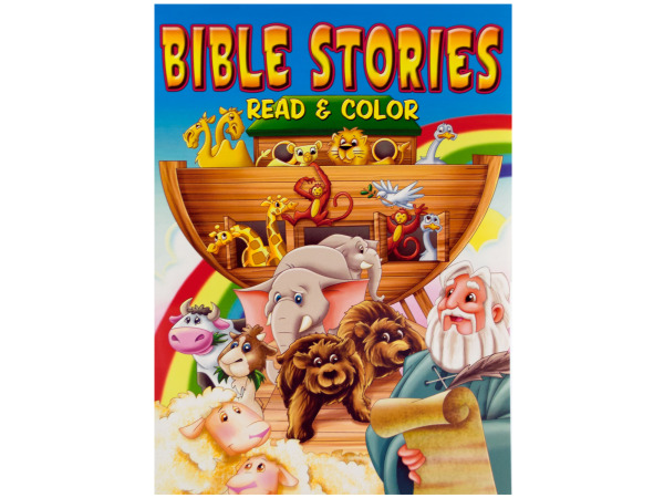 Bible stories coloring book