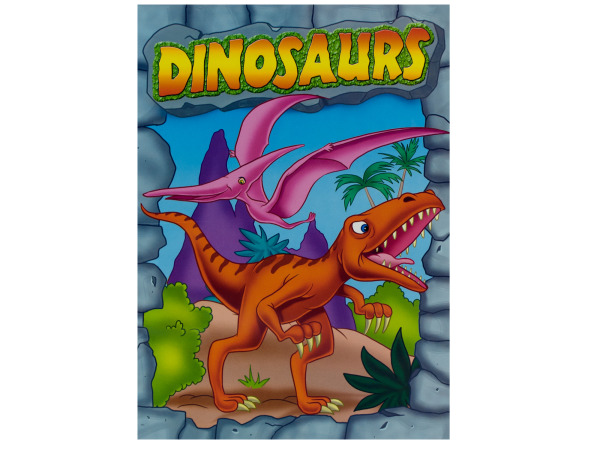 Dinosaurs coloring and activity book