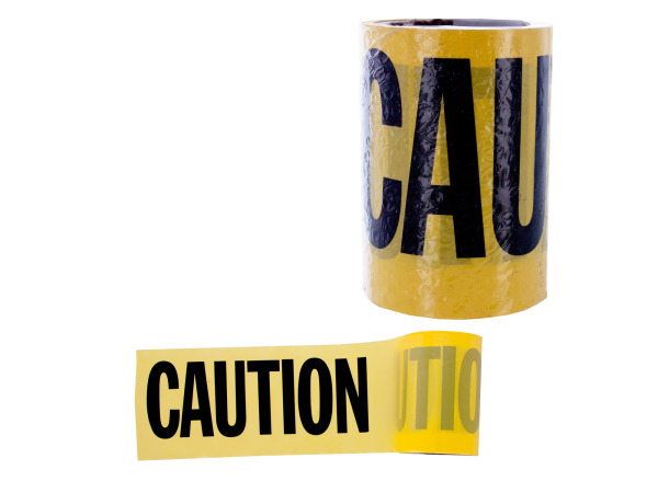 "3""x48ft caution tape"
