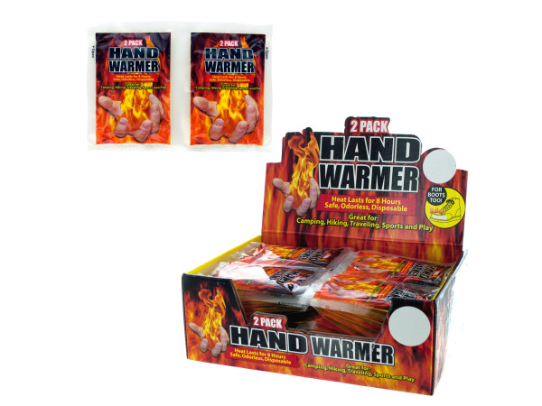 Hand Warmer Countertop Display