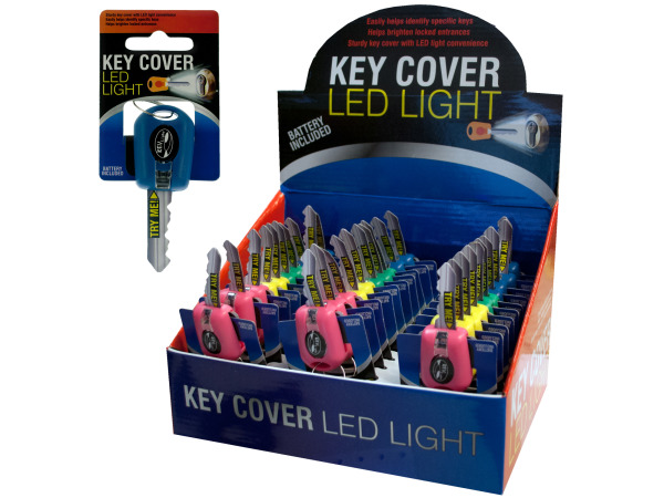 Key Cover With LED Light Countertop Display