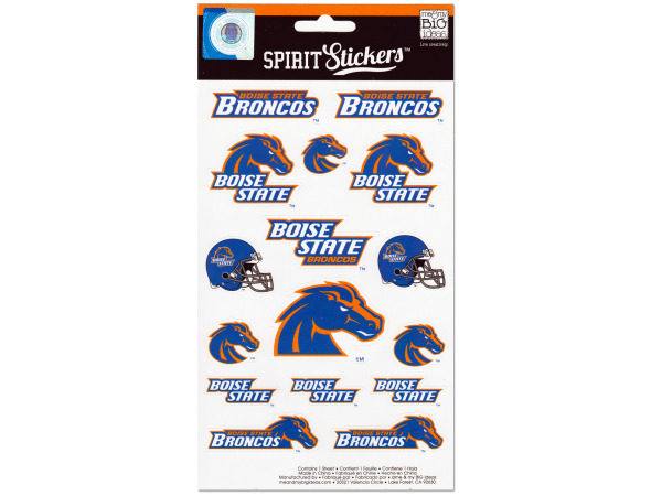 boise state broncos spirit stickers