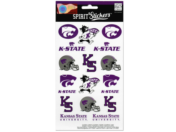 kansas state spirit stickers