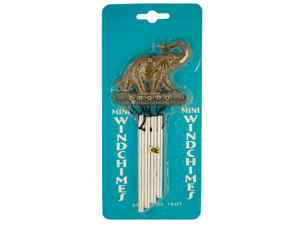 animal wind chimes asst