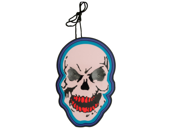 Light-Up Hanging Skull Decoration