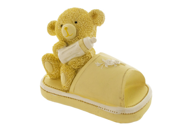 Baby Bear in Slippers Resin Figurines