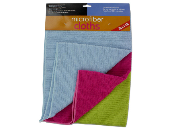 Microfiber cloth pack
