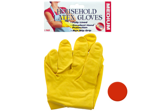 1 pair latex gloves