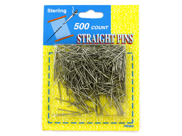 Straight Pins Value Pack