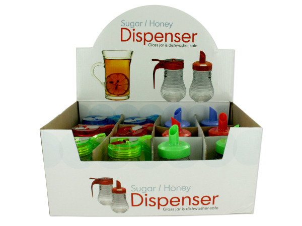 Sugar and Honey pourer display