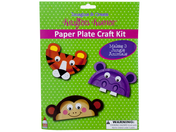 Paper Plate Craft Kit