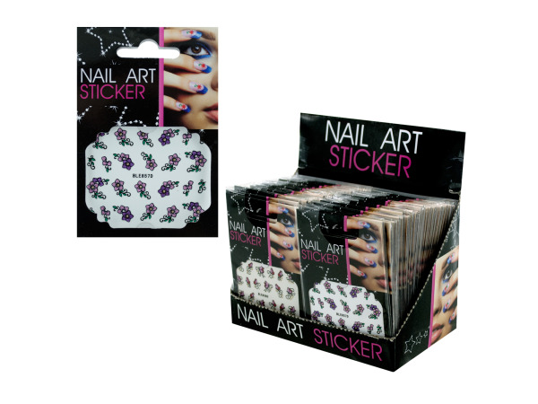 Nail Art Sticker Counter Top Display