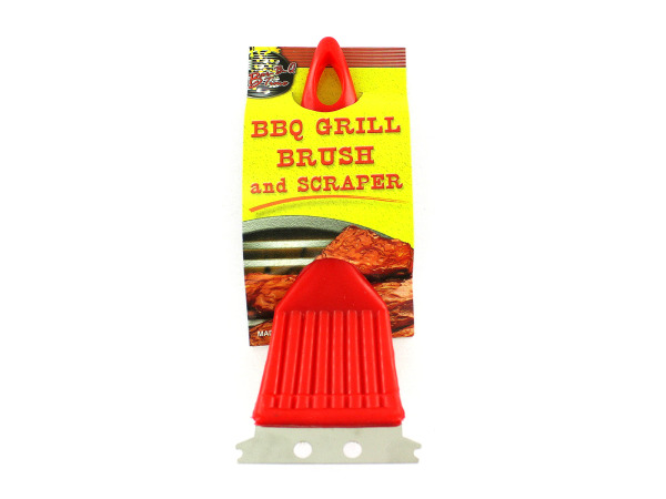 BBQ Grill Brush and Scraper