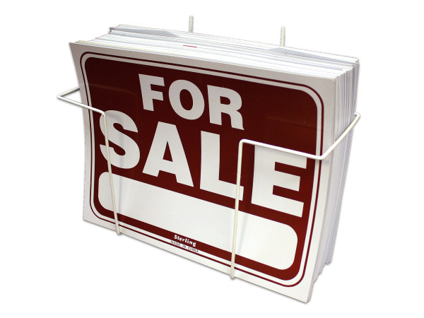 For Sale signs counter top display