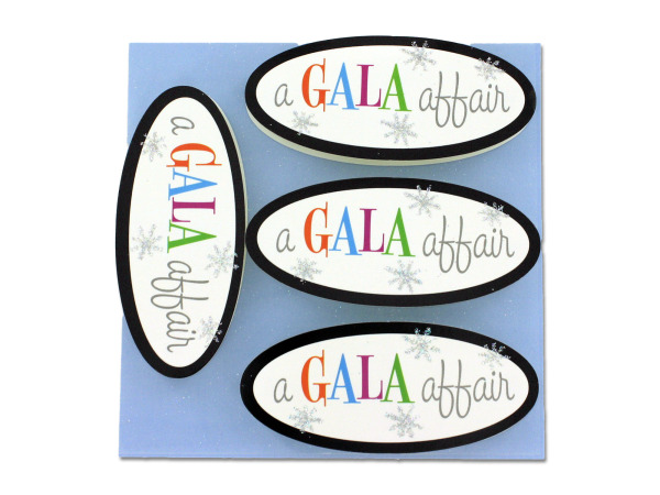 Gala Affair 3D card accents, pack of 8