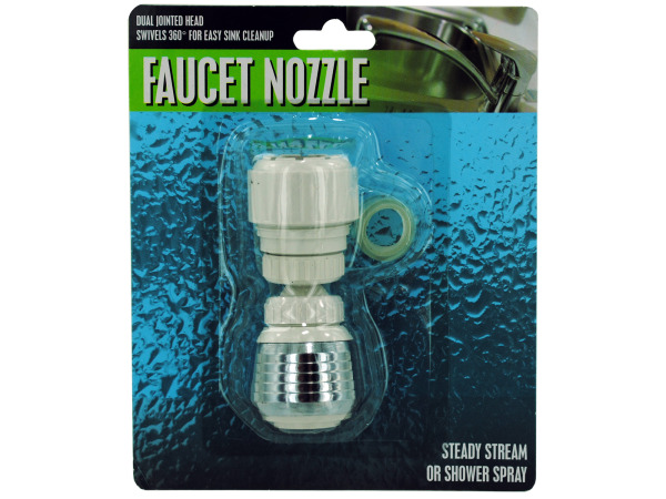 Jointed Faucet Nozzle