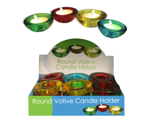 Choice Of Glass Votive Candle Holder