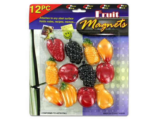 Fruit magnet set