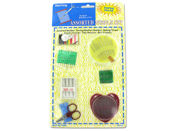Super value needle set