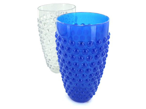 Tumbler cup with bubble dots