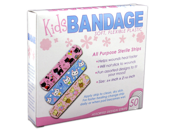 Bandages with Kid's Designs