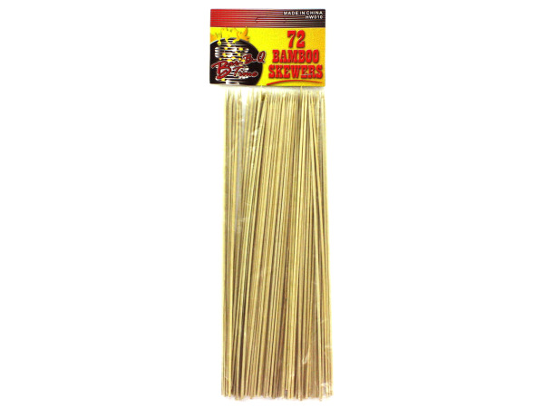 Huge set of bamboo skewers (72 count)