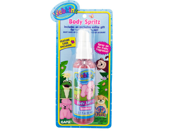 2.1 fl oz strawberry body spritz