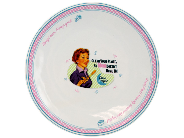 4 piece mom salad plates