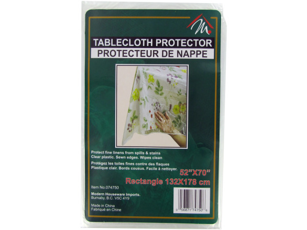 52 x 70 tablecloth protector