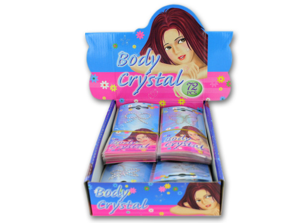 Crystal body art display