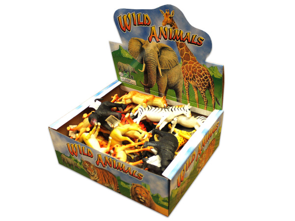 Toy wild animal display