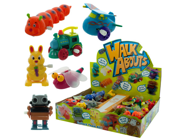 Wind-Up Walk About Toy Display